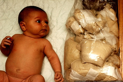 One Day of Diapers. Photo © Sean Dreilinger